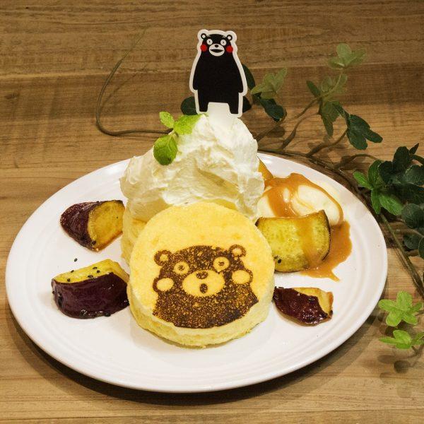 季節のパンケーキ~西原村産シルクスイート使用~