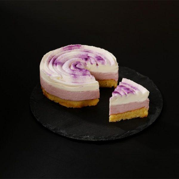 紫芋のフロマージュムース