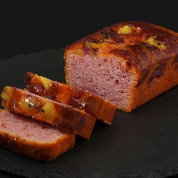 紫芋チーズケーキ