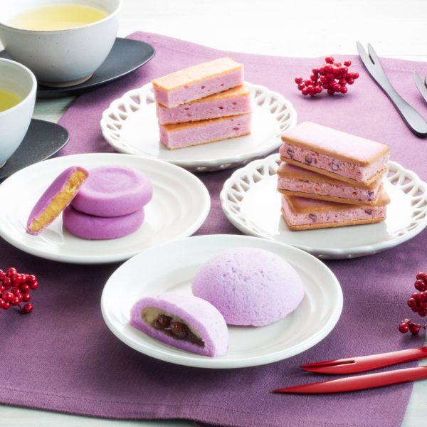 紫芋の創作洋菓子🍠