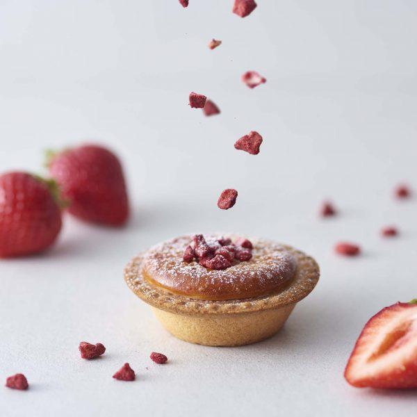 【BAKE】春限定「サク咲く あまおう苺チーズタルト」販売★