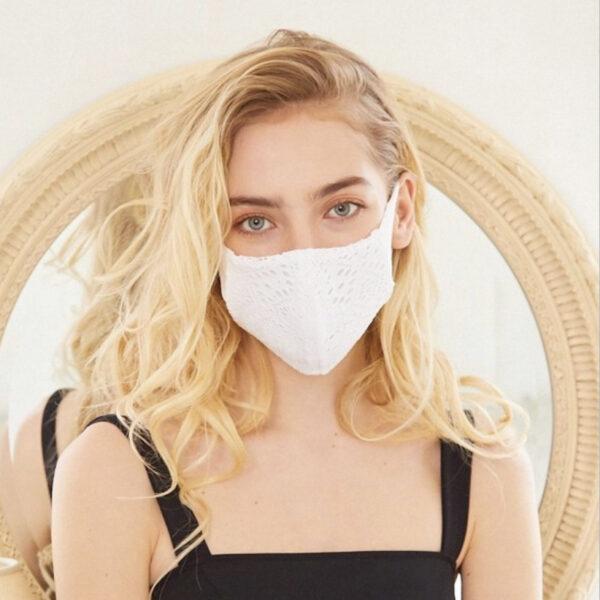これからの季節にも最適☀水着素材のマスク