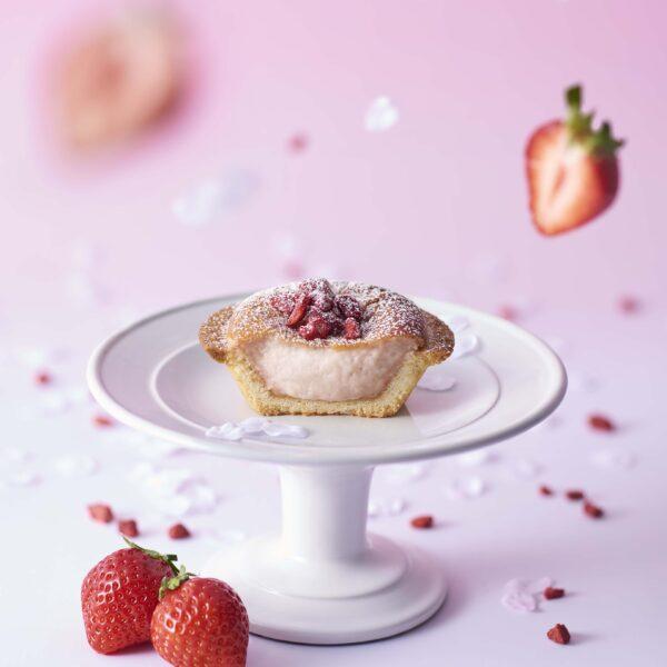 【BAKE】2周年企画『サク咲く あまおう苺チーズタルト』限定登場!